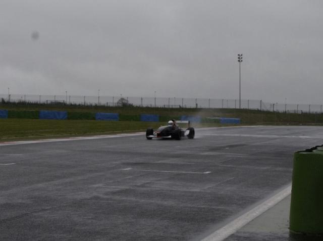 Magny-Cours F1 sous la pluie