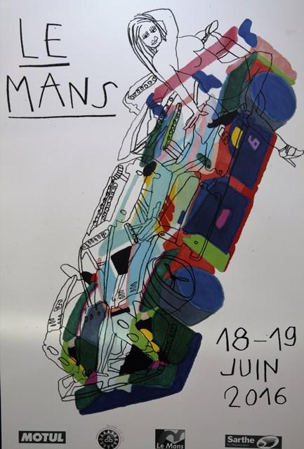 2016-06-15 expo affiche streetart 24 heures du MAns 2016