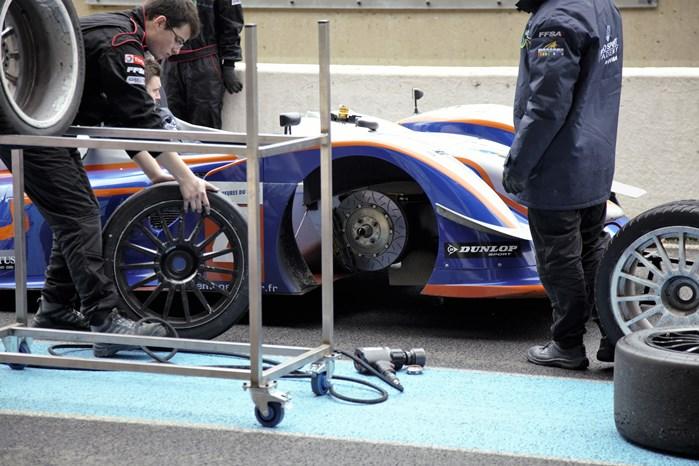 Changements de pneus