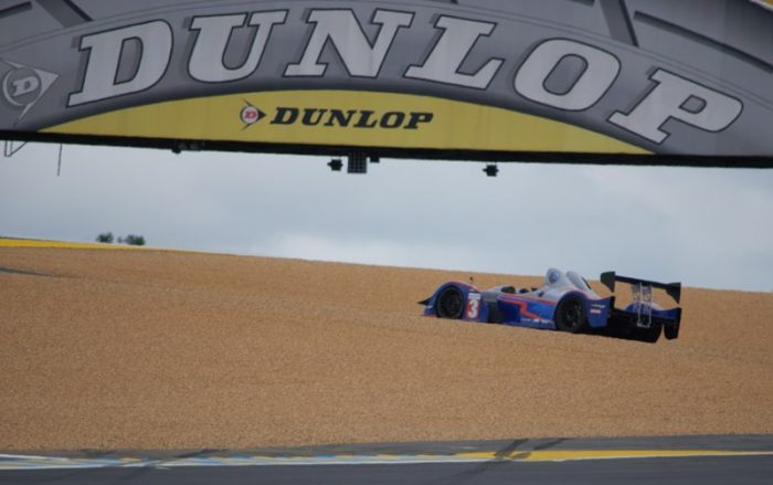 Passerelle Dunlop du Mans