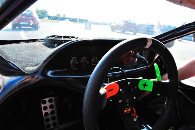 Le cockpit d'une funboost