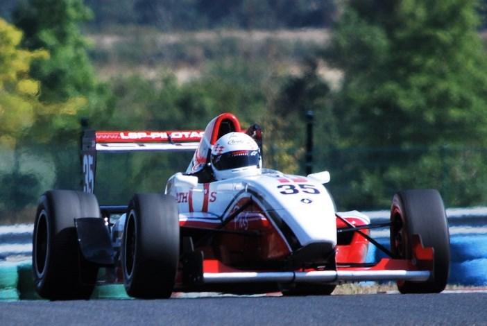 Formule Renault 2.0 de l'école de pilotage LSP
