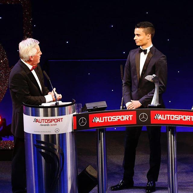 Pascal Wehrlein rookie of the year